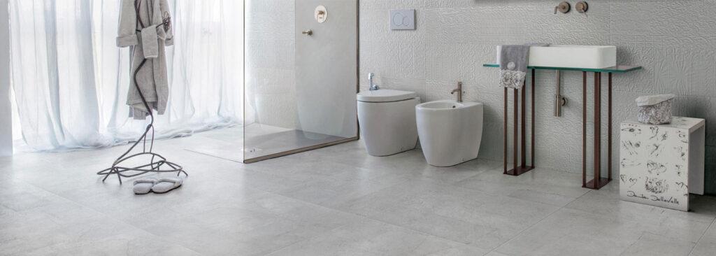 Natural look for ceramic tiles